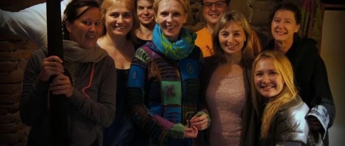 Watsu instruktorių seminaras Lenkijoje, 2015 spalis